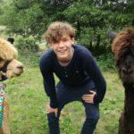 Nicht alles nur gespuckt: Wandern mit Lamas